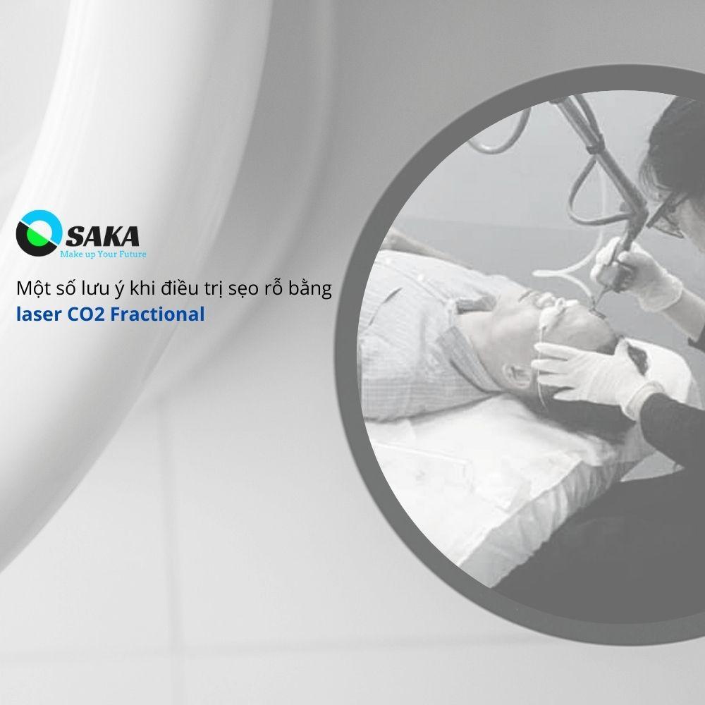 Điều trị sẹo rỗ bằng Laser CO2 Fractional
