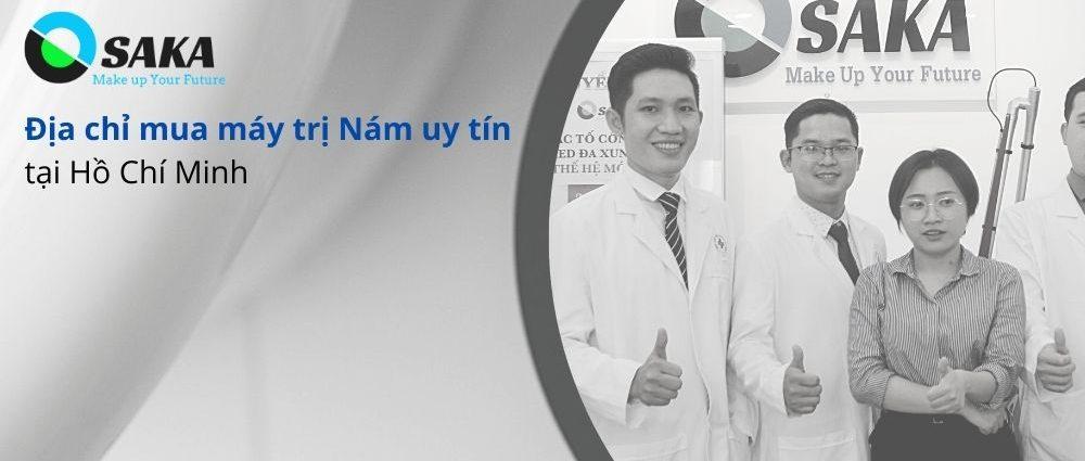 Địa chỉ mua máy trị nám uy tín tại HCM