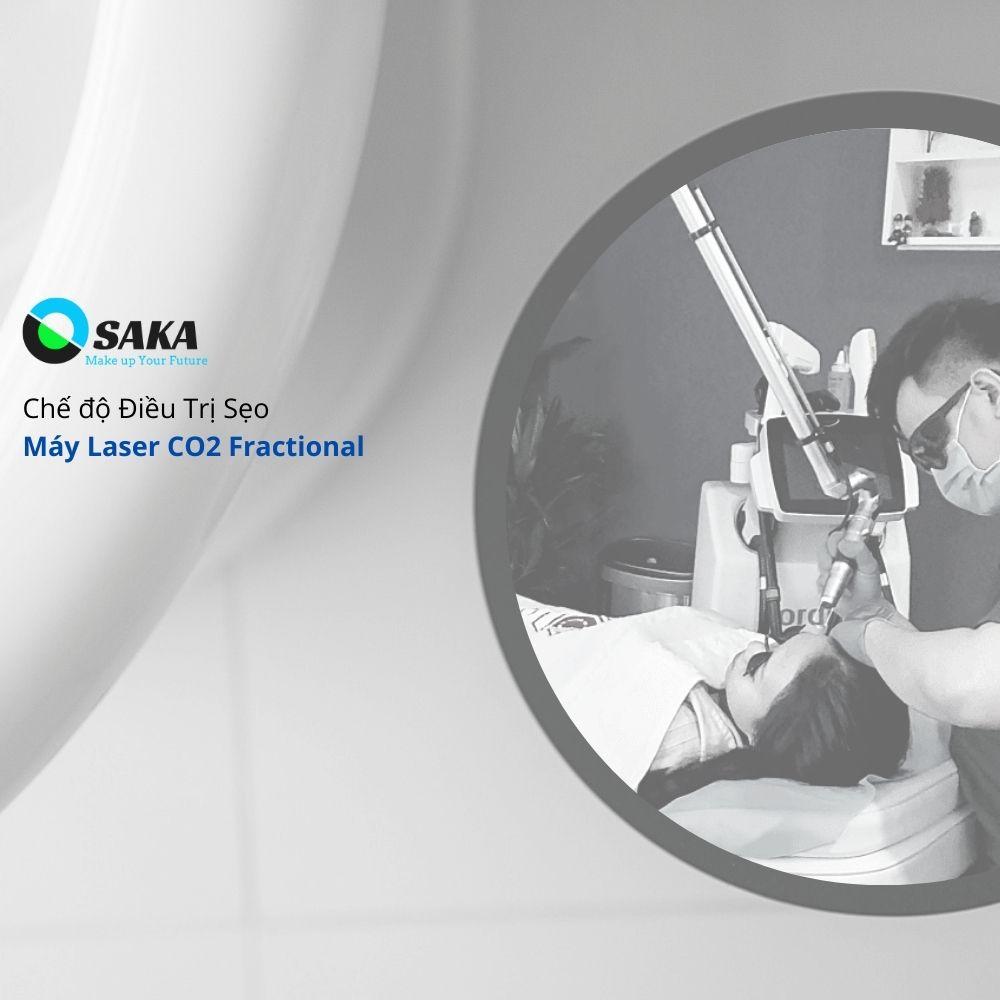 Điều trị sẹo máy Laser CO2 Fractional