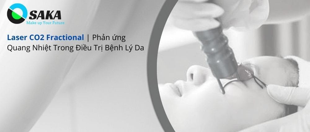 Phản ứng quang nhiệt Laser CO2 Fractional