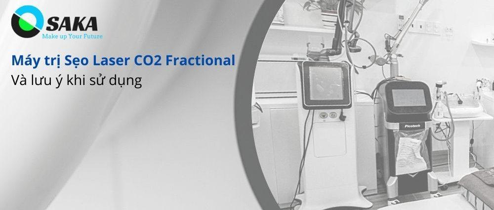 Máy trị sẹo Laser CO2 Fractional