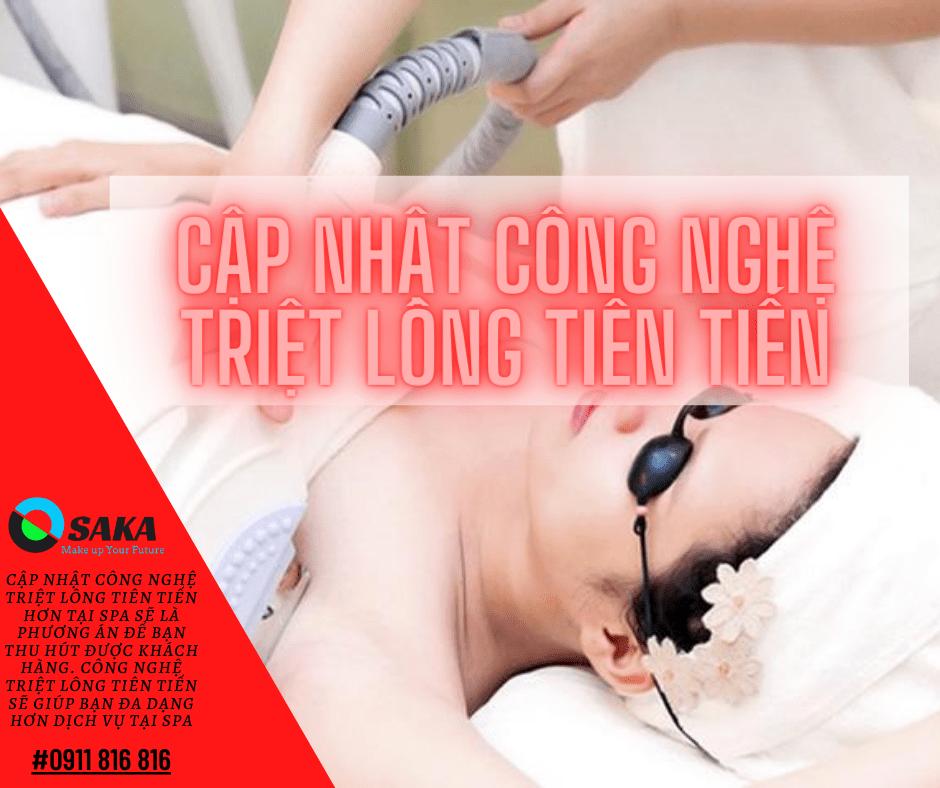 Cập nhật công nghệ điều trị triệt lông tiên tiến