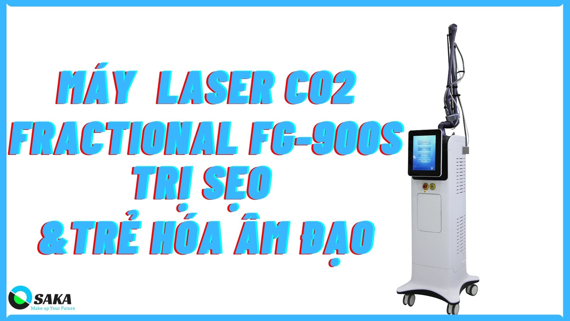 máy trị sẹo laser co2 fractional