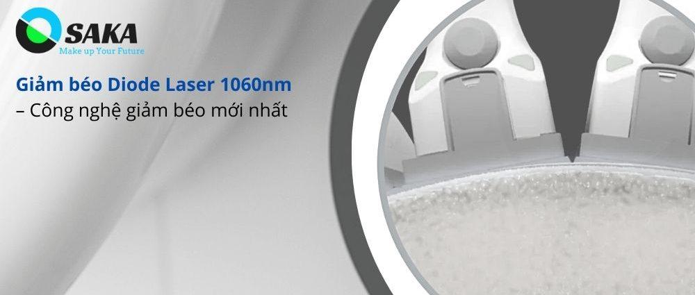 Công nghệ giảm béo Diode Laser 1060nm mới nhất
