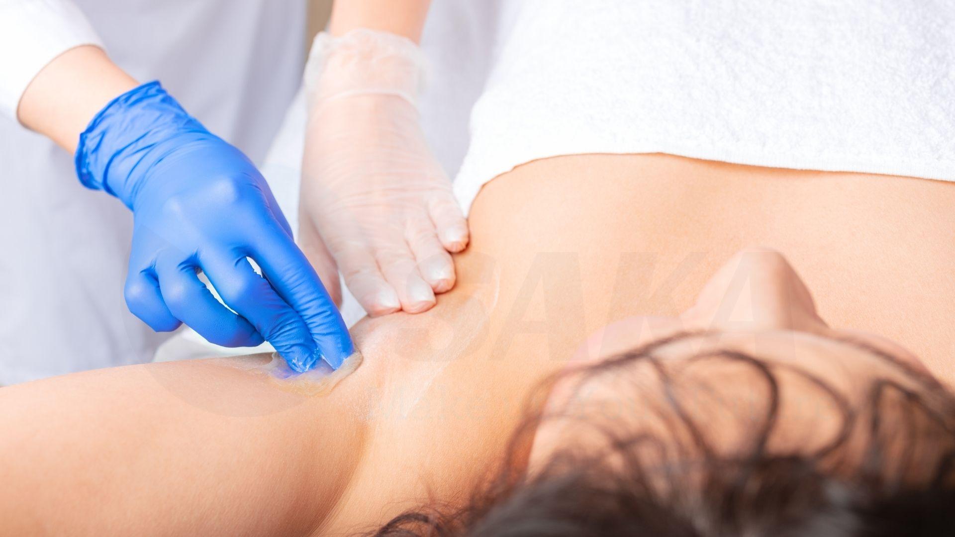 Phương pháp wax lông tại spa