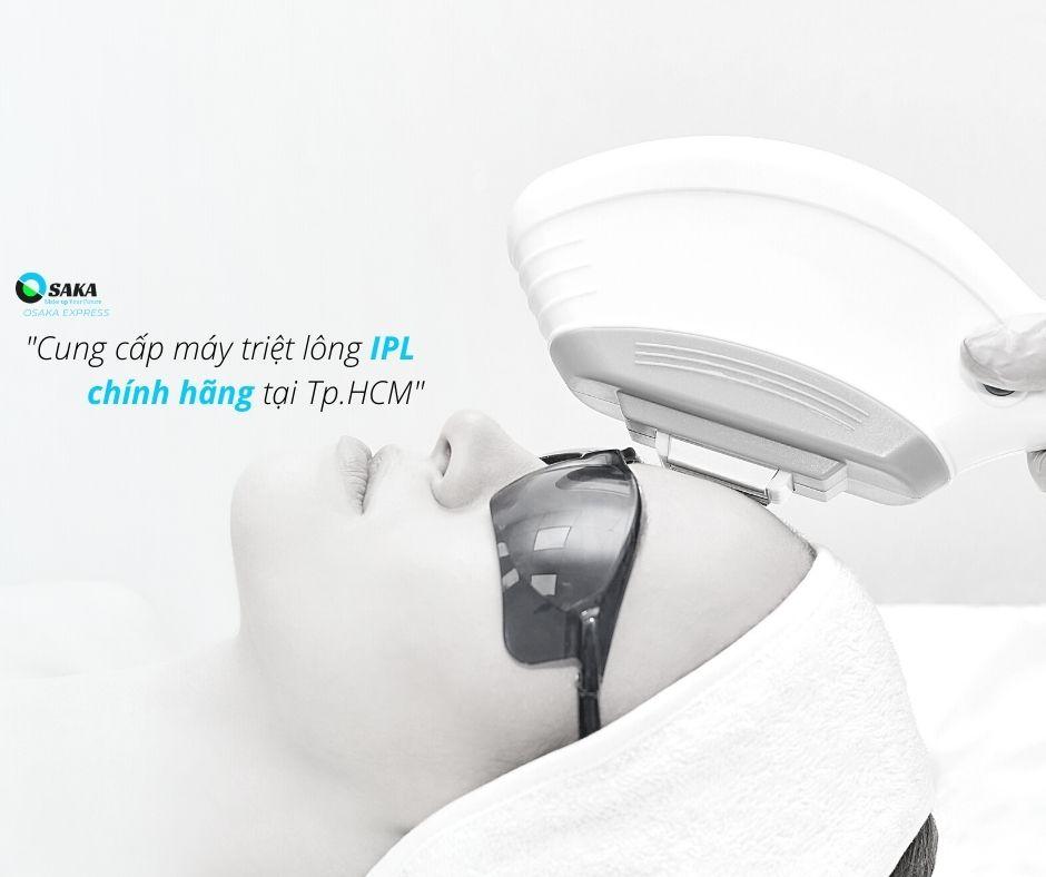 Cung cấp máy triệt lông IPL chính hãng tại TPHCM