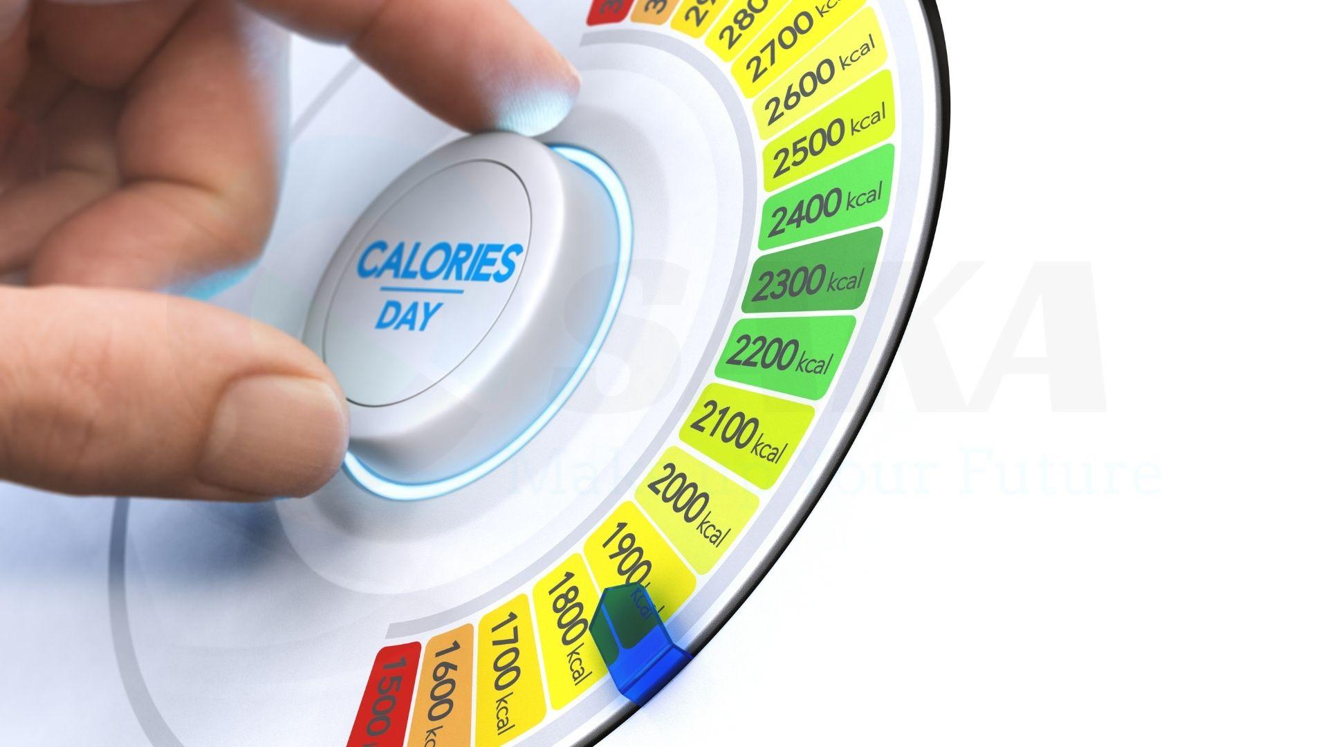 Giảm béo vai bằng giảm lượng calo