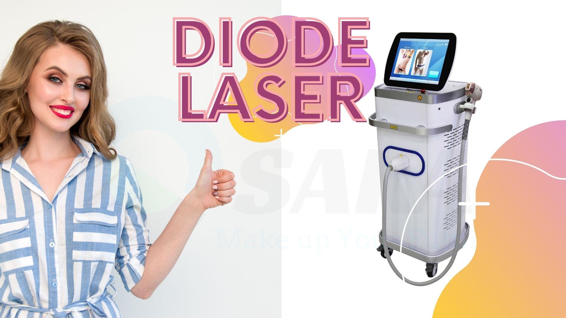 Máy triệt lông Diode Laser