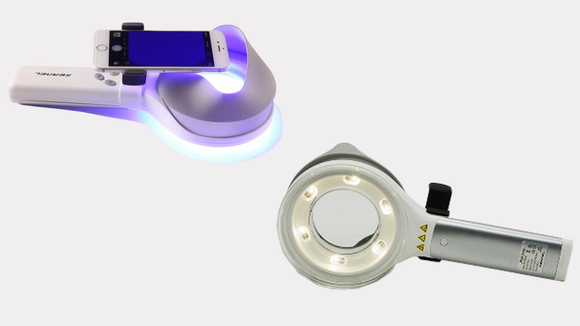 Nguồn ánh sáng máy soi da Wood Light KN9000B