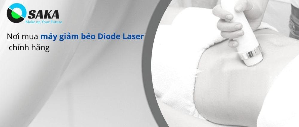Nơi bán máy giảm béo Diode Laser chính hãng
