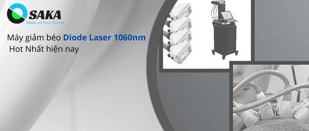Thiết bị giảm béo Diode Laser 1060nm
