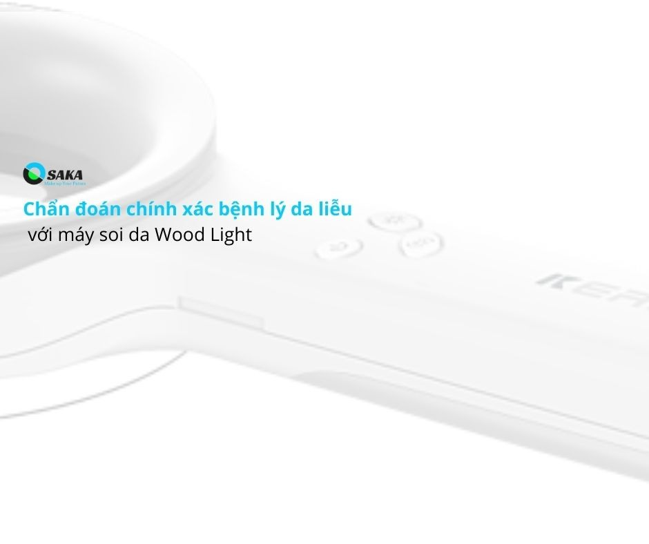 Chẩn đoán bệnh da liễu bằng đèn wood soi da