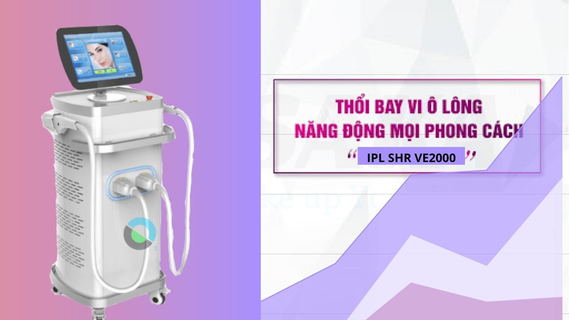 Công nghệ triệt lông IPL