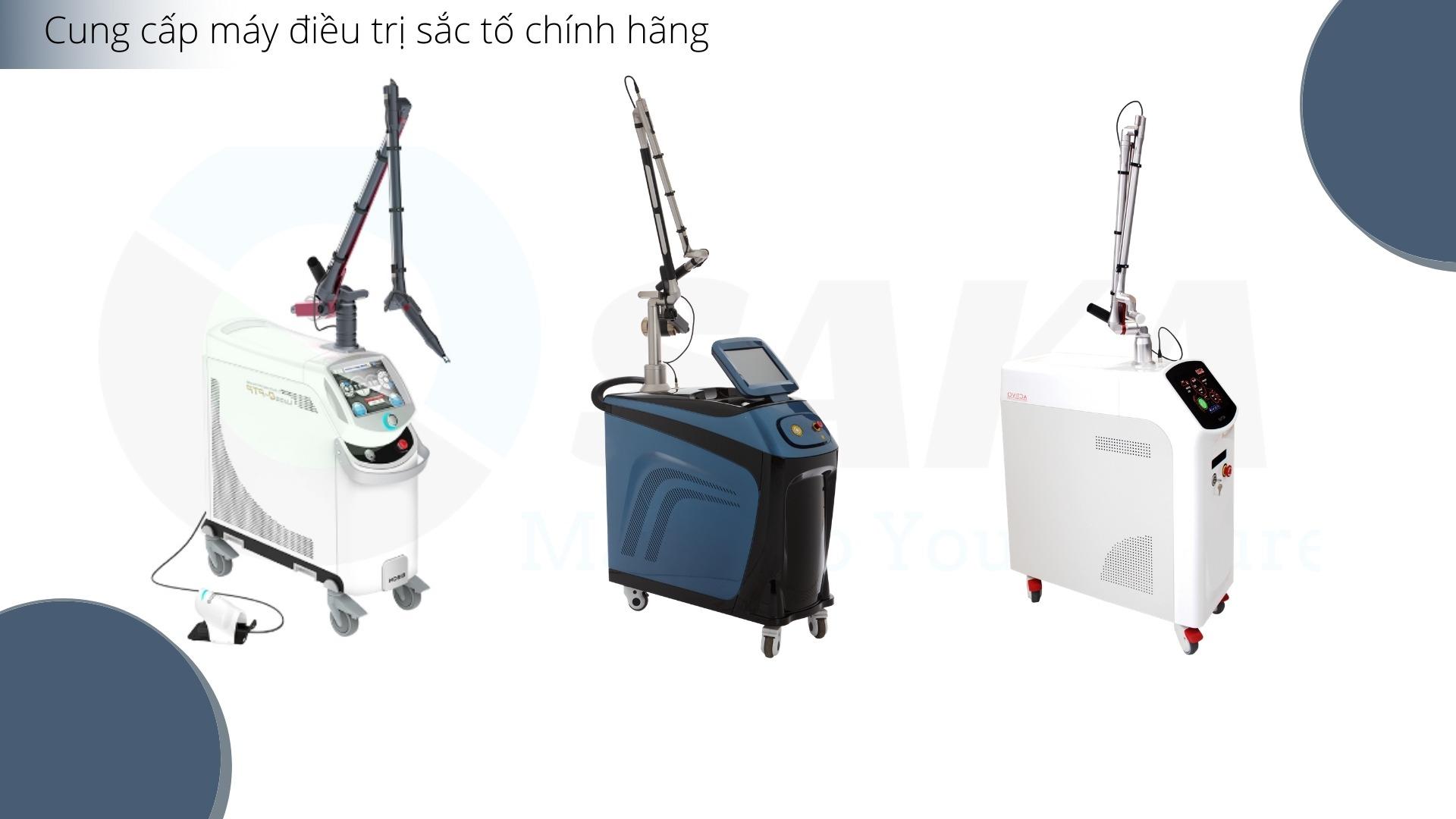 Cung cấp máy điều trị sắc tố chính hãng