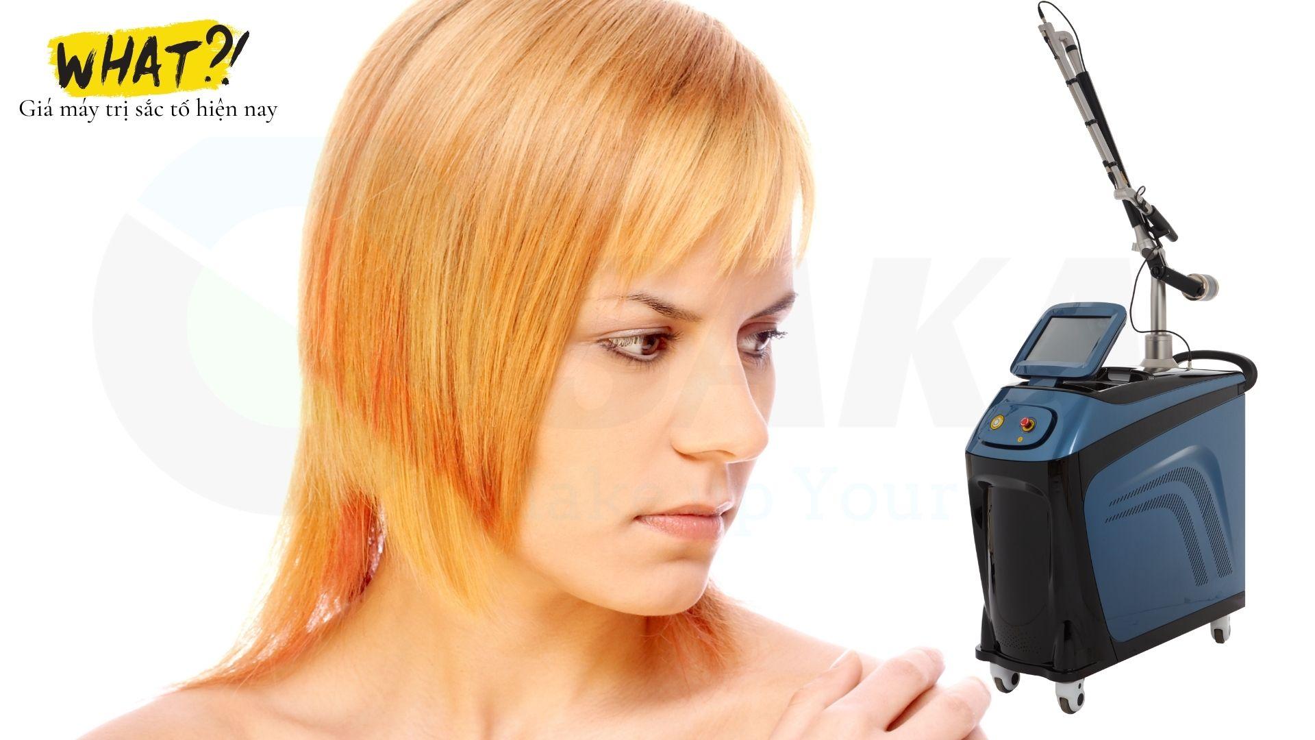 Giá máy điều trị sắc tố hiện nay