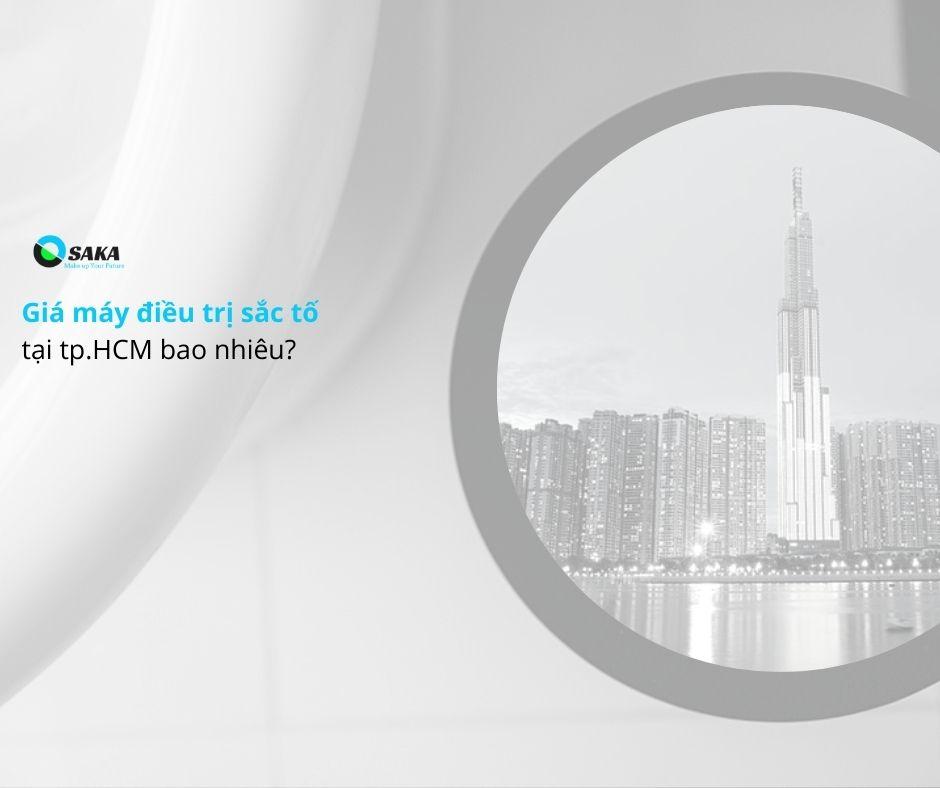 Giá máy điều trị sắc tố tại HCM