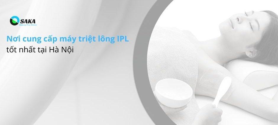 Giá máy triệt lông IPL tốt nhất Hà Nội