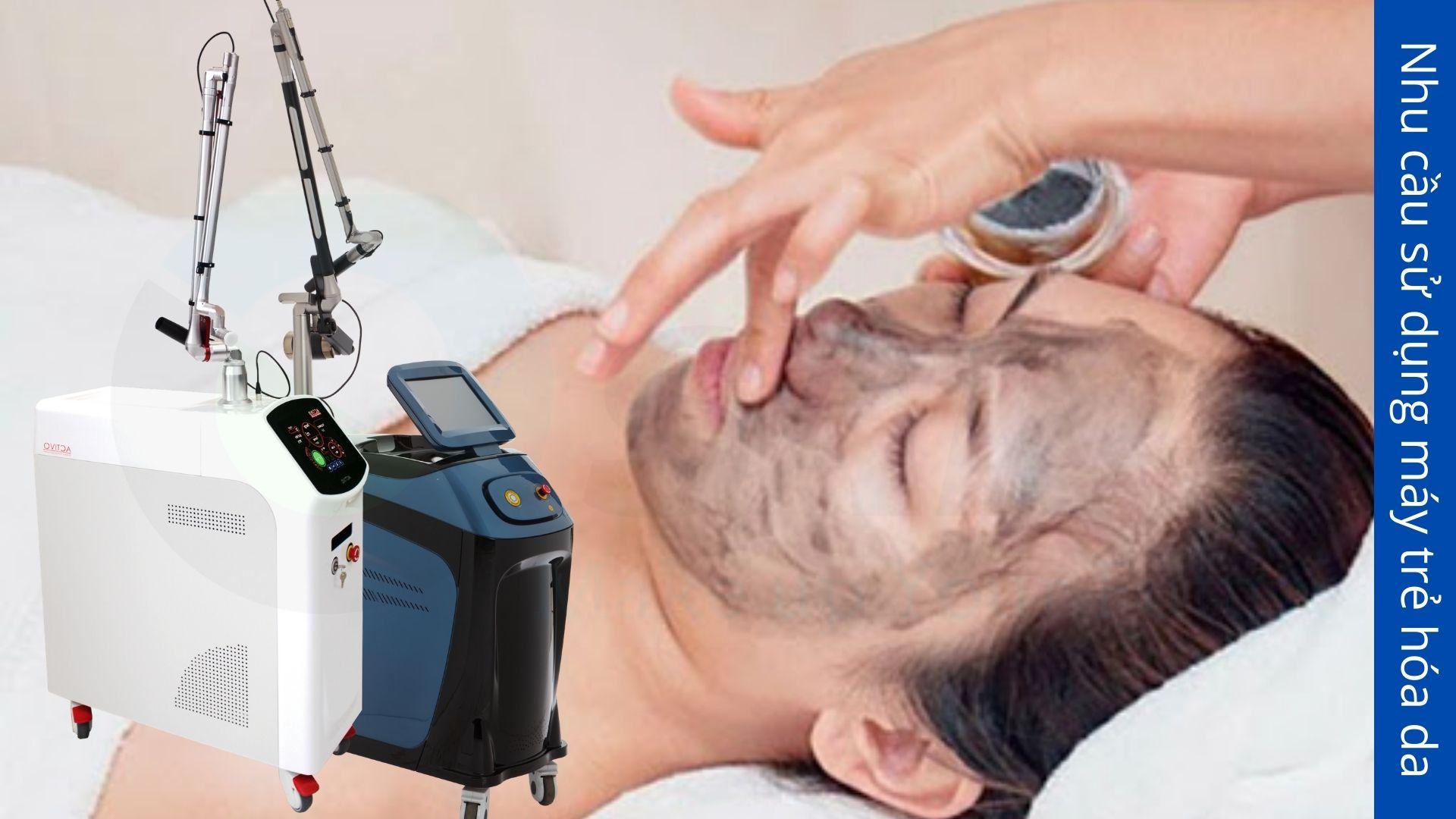 Nhu cầu sử dụng máy trẻ hóa da