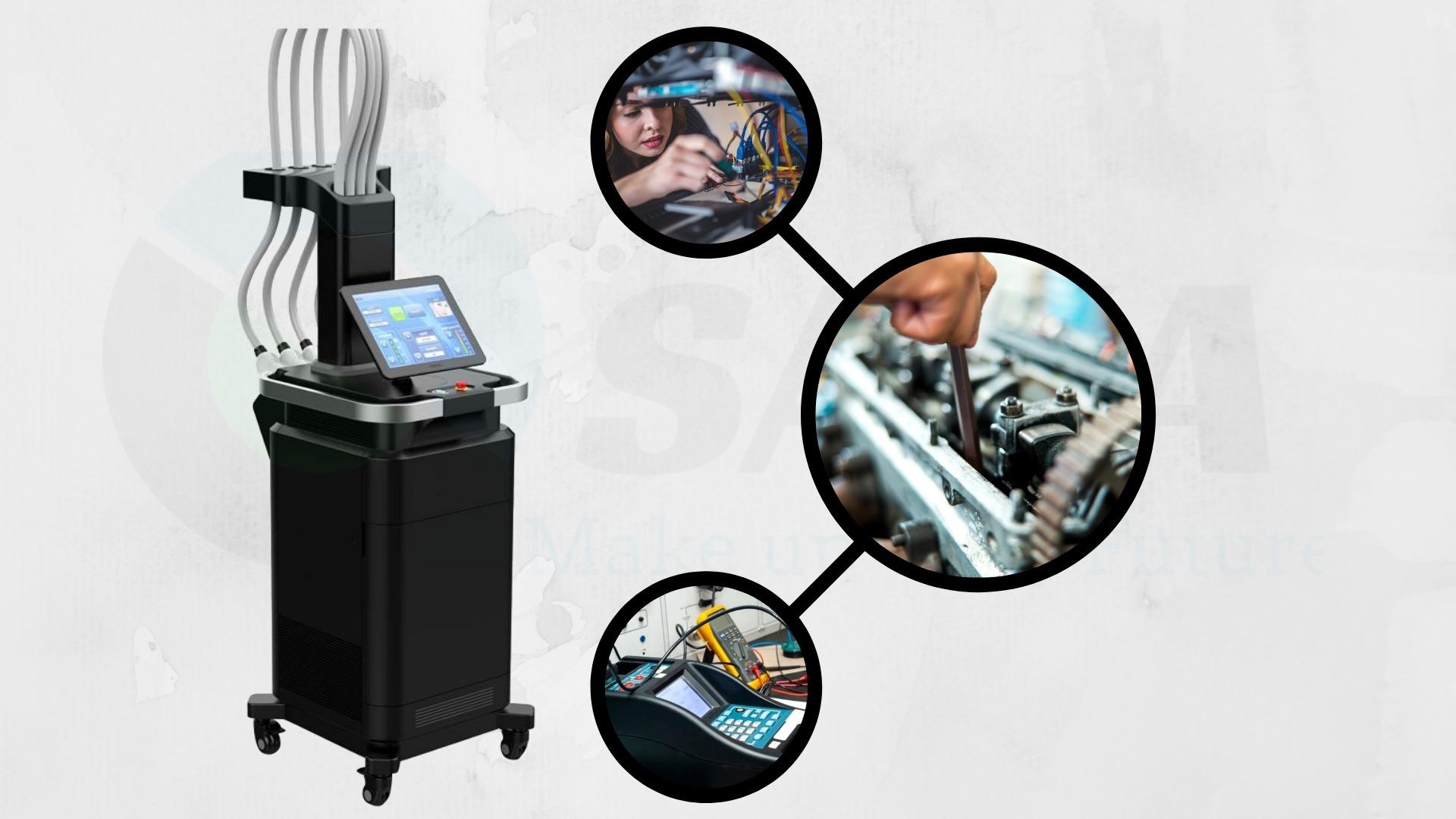 Sửa chữa máy giảm béo Diode Laser tại Hà Nội