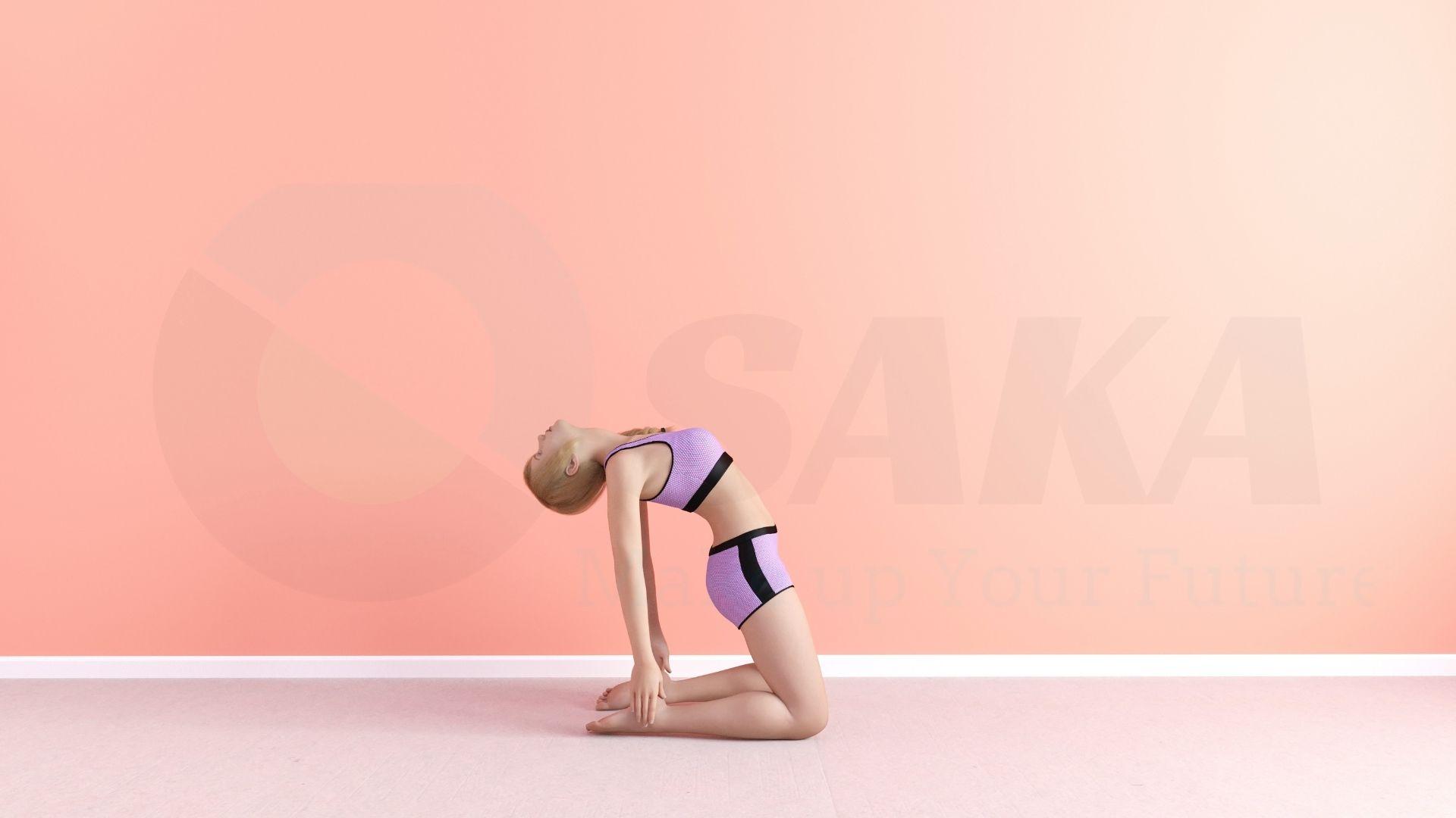 Trẻ hóa da qua bài tập yoga con lạc đà