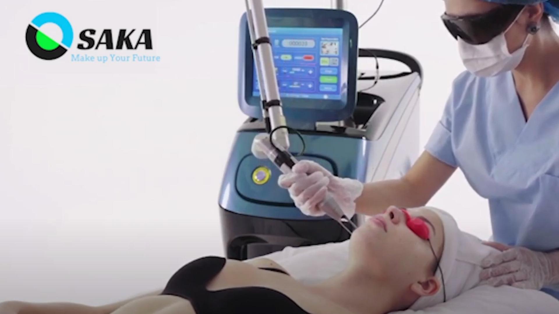 Ứng dụng máy điều trị sắc tố
