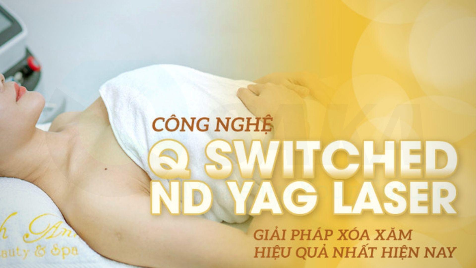 Cơ chế hoạt động công nghệ Q-Switched ND YAG
