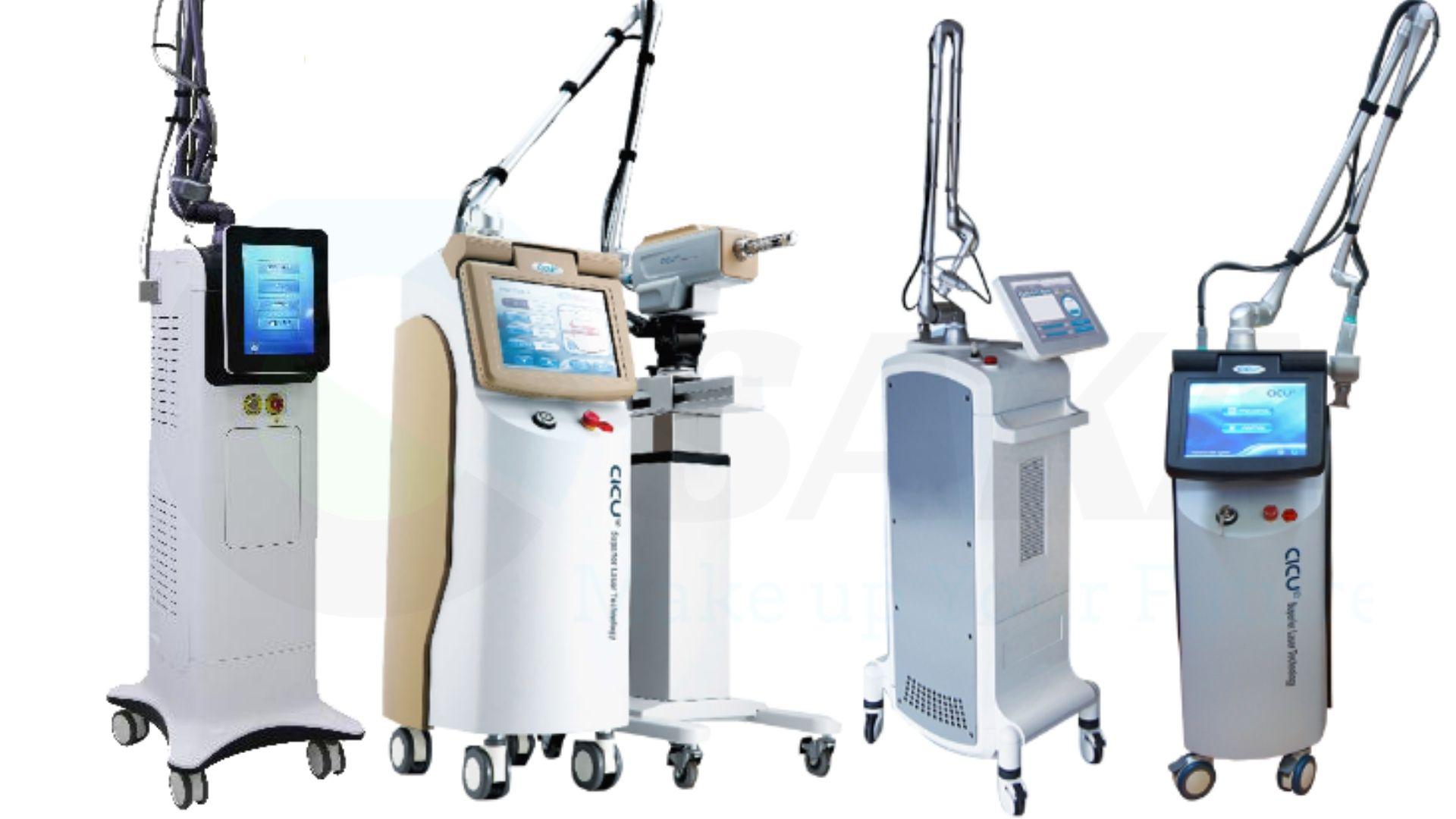 Giới thiệu máy trị sẹo Laser Co2 Fractional