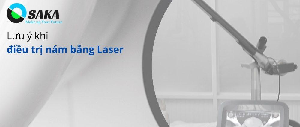 Lưu ý khi điều trị nám bằng laser thẩm mỹ