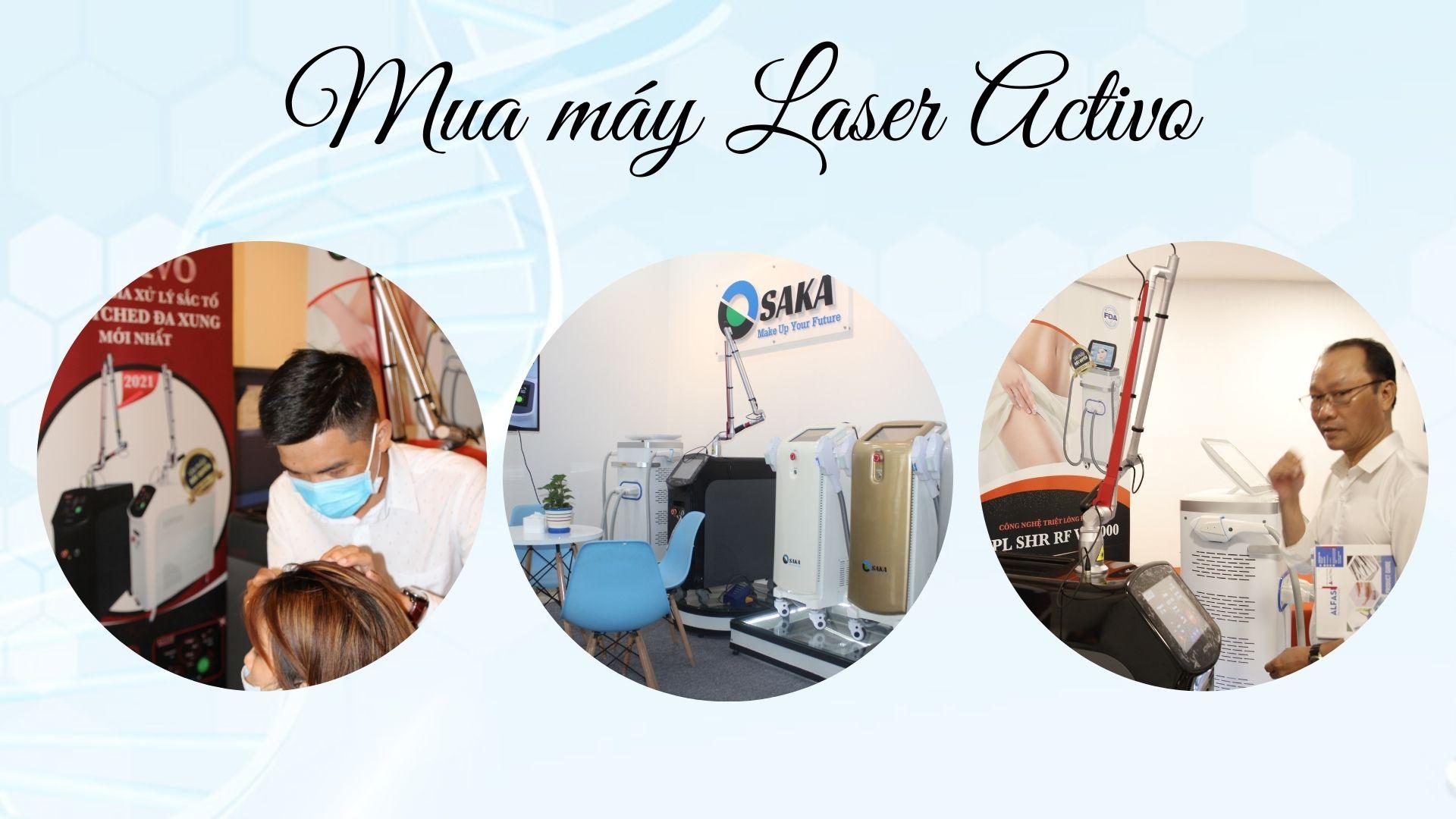 Mua máy Laser Activo