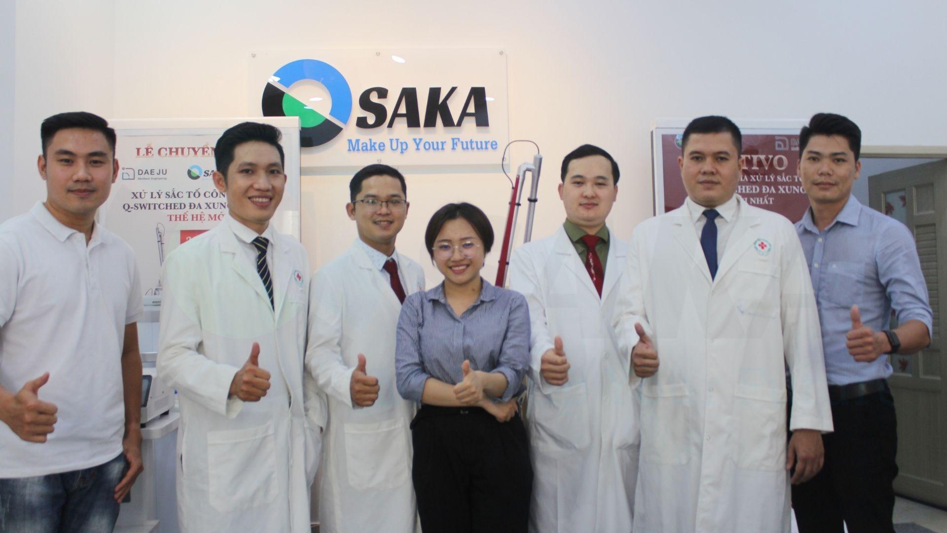 Sửa chữa máy nâng cơ mặt tại OSAKA