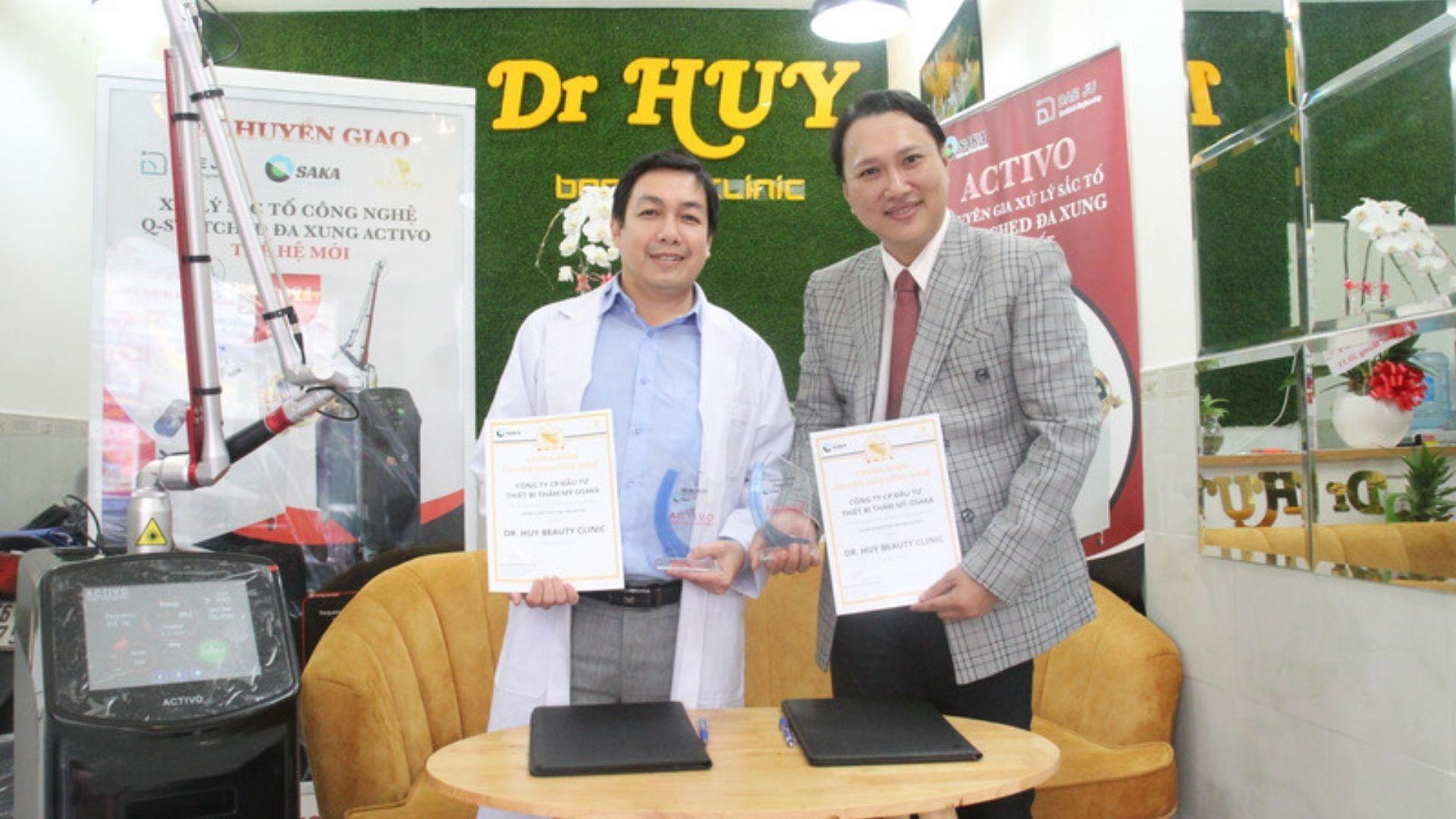 Công nghệ đa xung Activo chuyển giao đến phòng khám Dr. Huy Clinic