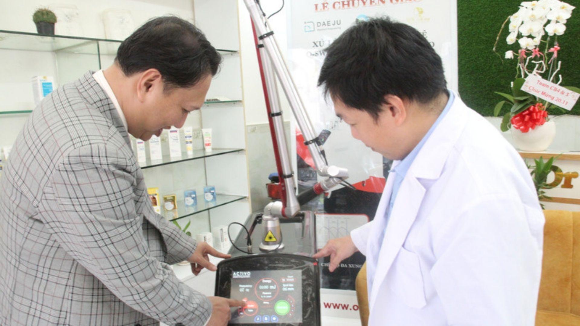 Máy điều trị nám, sắc tố công nghệ đa xung Activo ND YAG Q-Switched