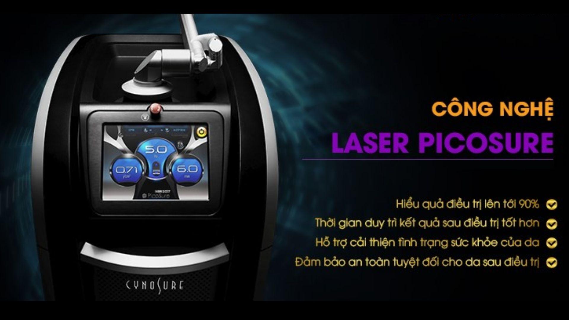 Công nghệ Pico Laser Trung Quốc