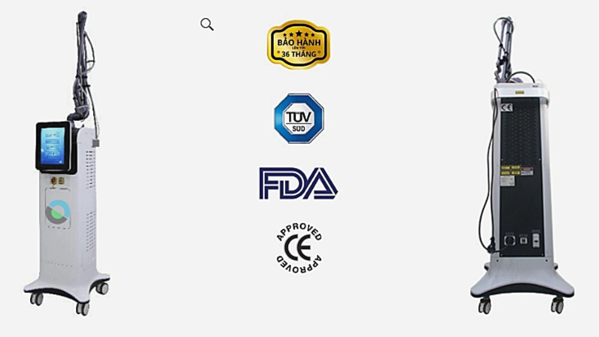 Laser CO2 Fractional chứng nhận FDA