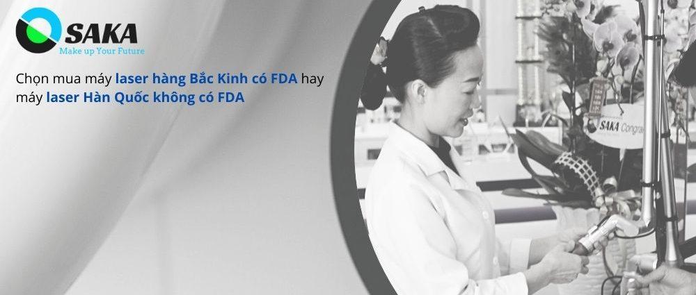 Mua máy thẩm mỹ có FDA hay không FDA