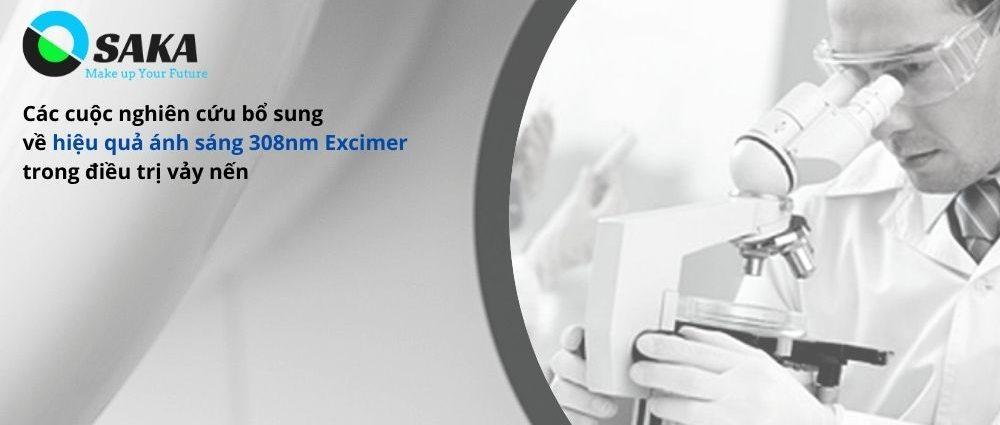 Nghiên cứu bổ sung hiệu quả ánh sáng Excimer 308nm