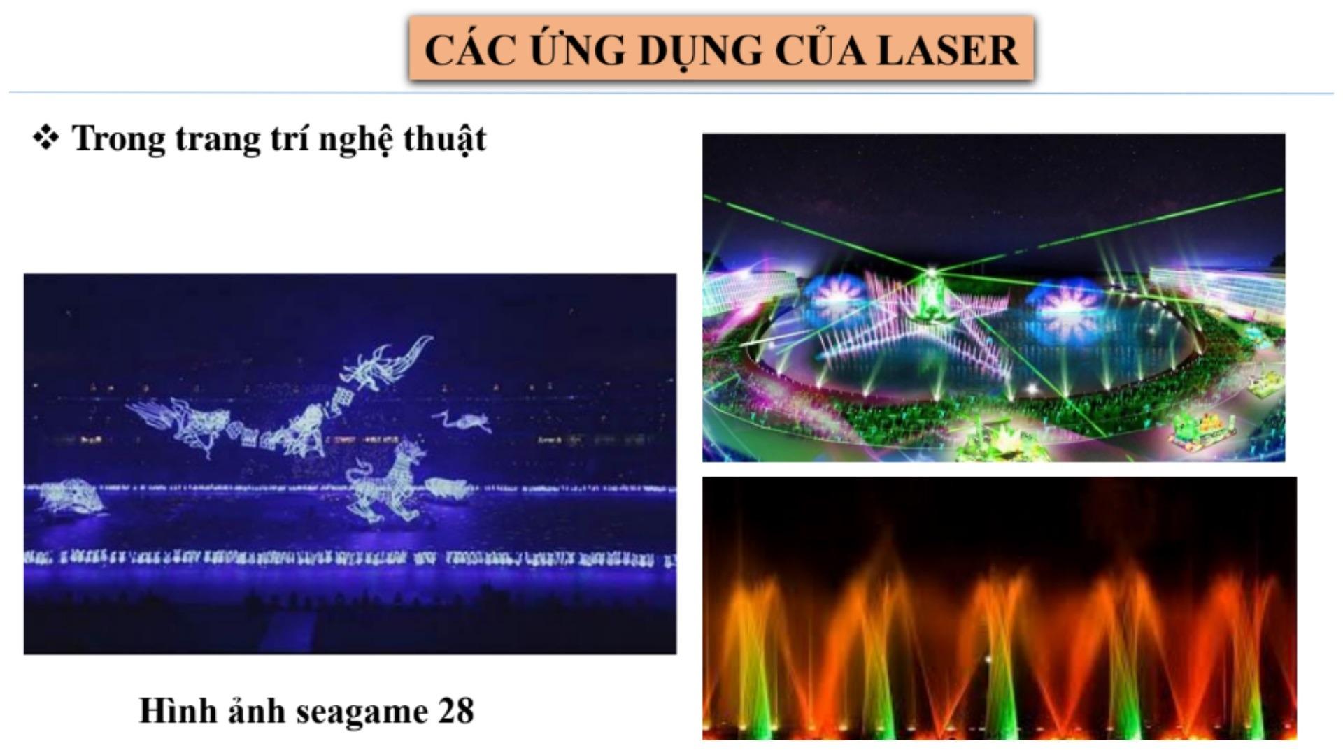 Laser ứng dụng như thế nào