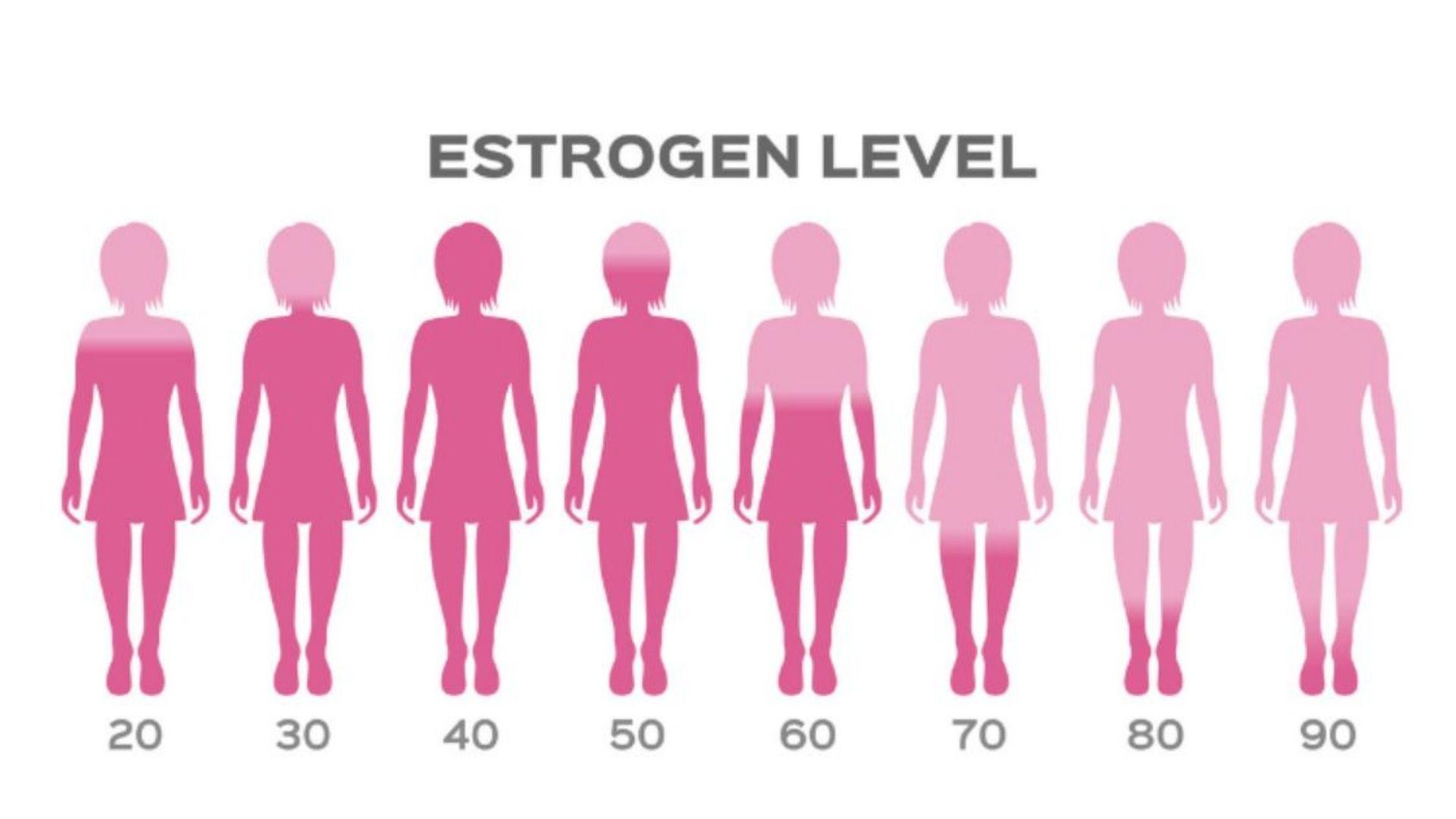Mức độ Estrogen gây tăng sắc tố rám da