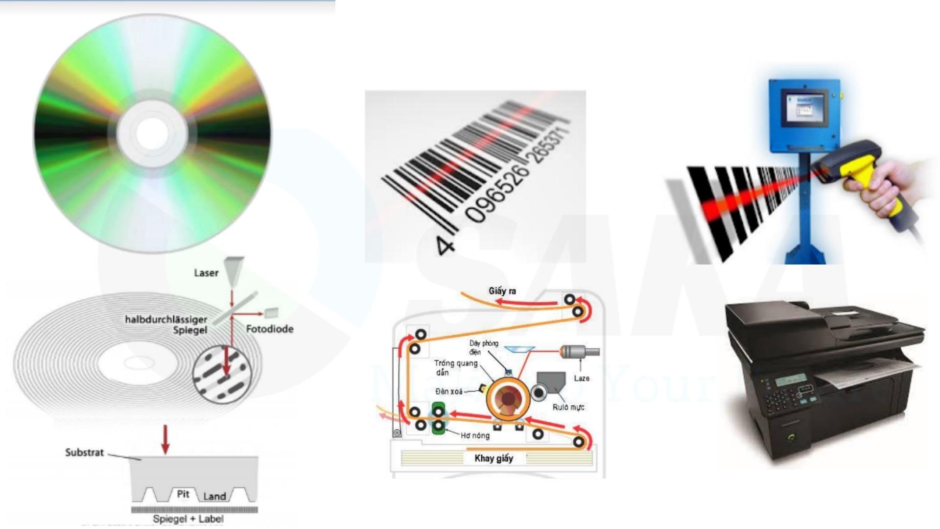 Ứng dụng laser trong chế tạo đĩa