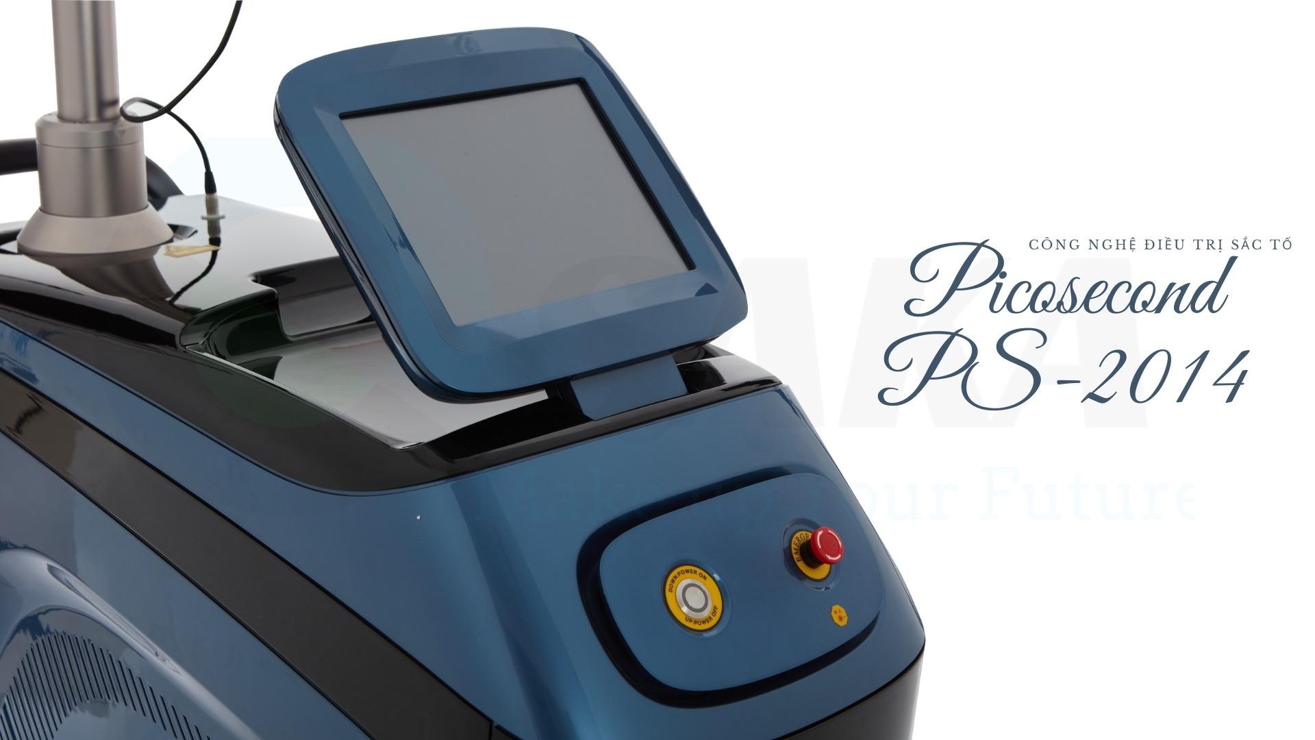 Giá máy công nghệ trị sắc tố picosecond