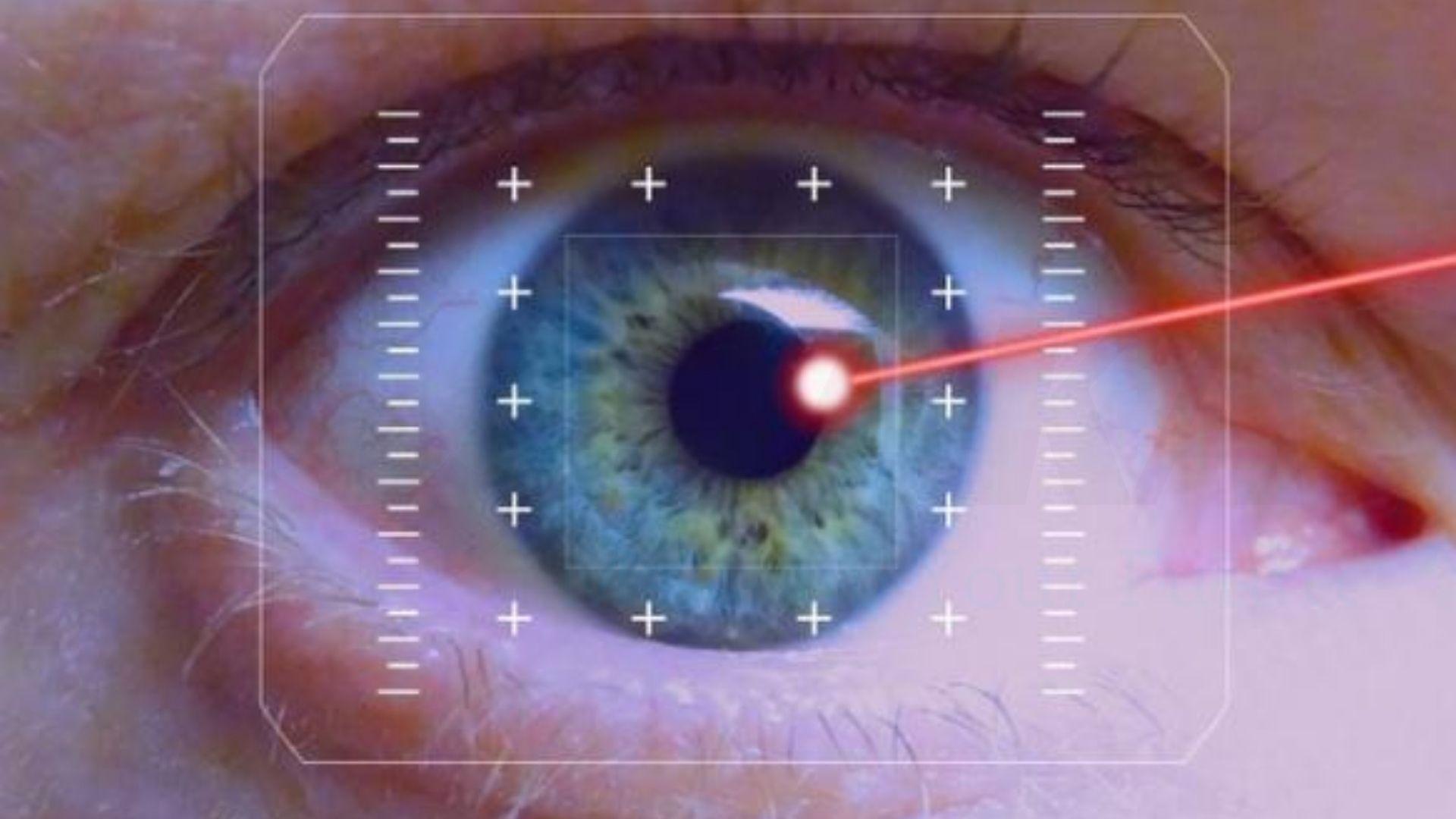 Tổn thương ở mắt do tia laser