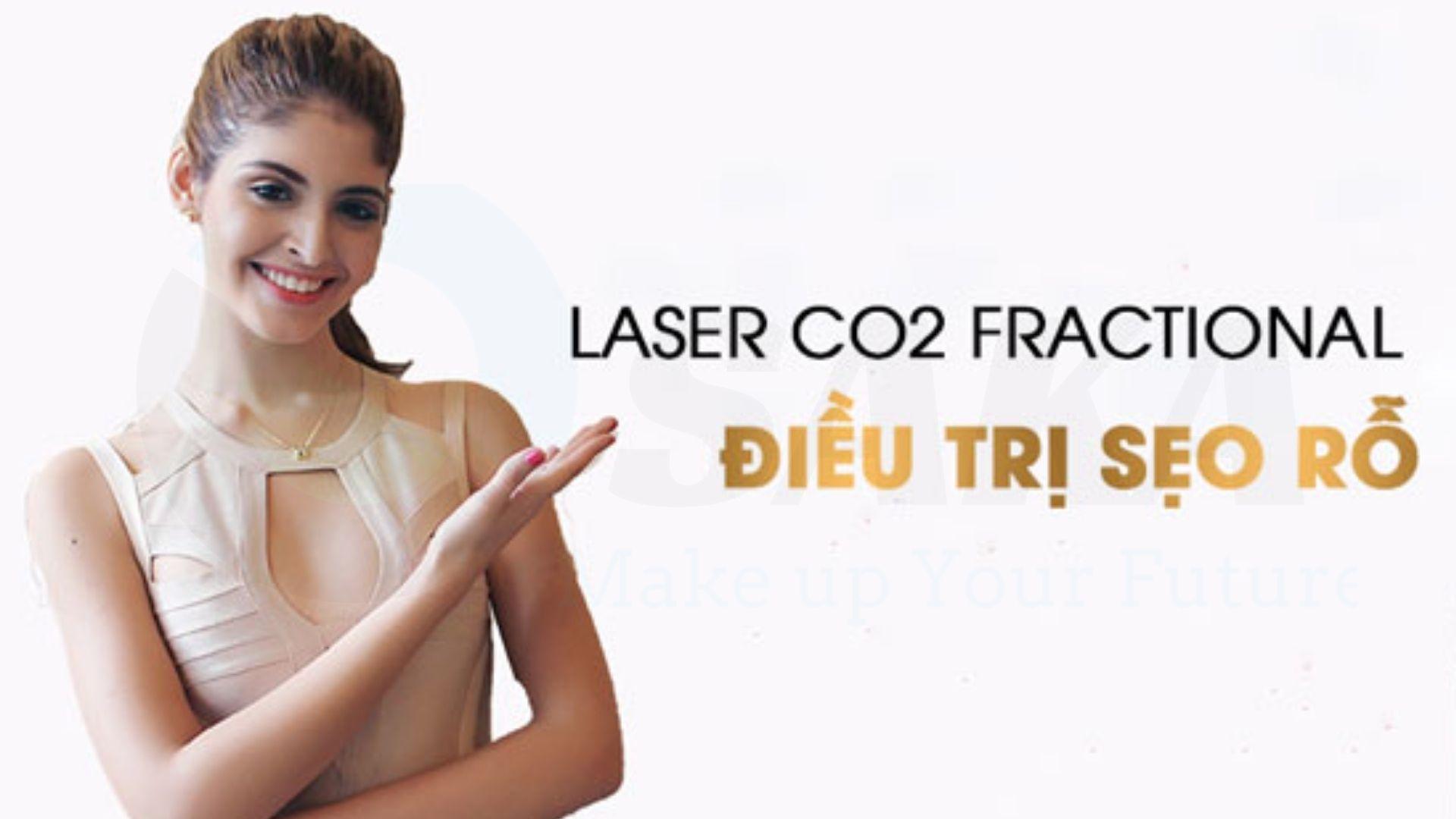 Ưu điểm phương pháp điều trị Laser Co2 Fractional